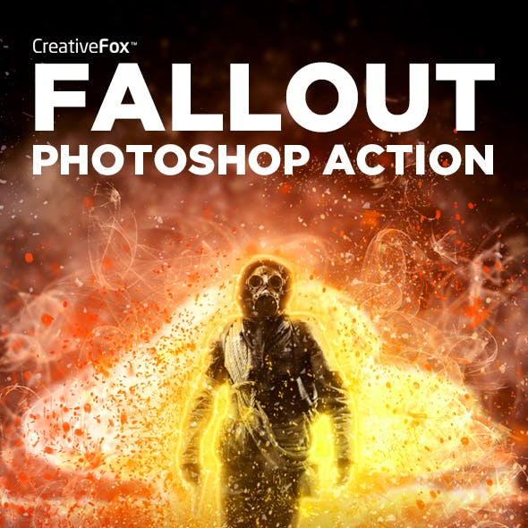 Fallout Photoshop Action