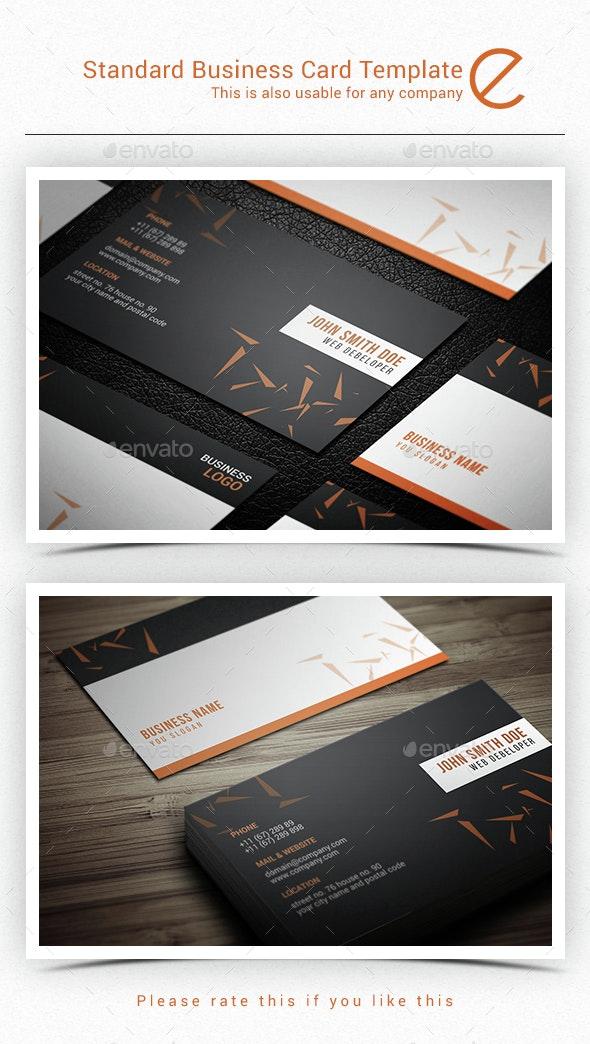 Usiba Business Card Template - Corporate Business Cards