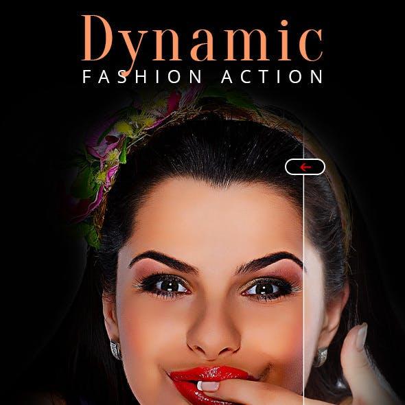 Dynamic Fashion Action