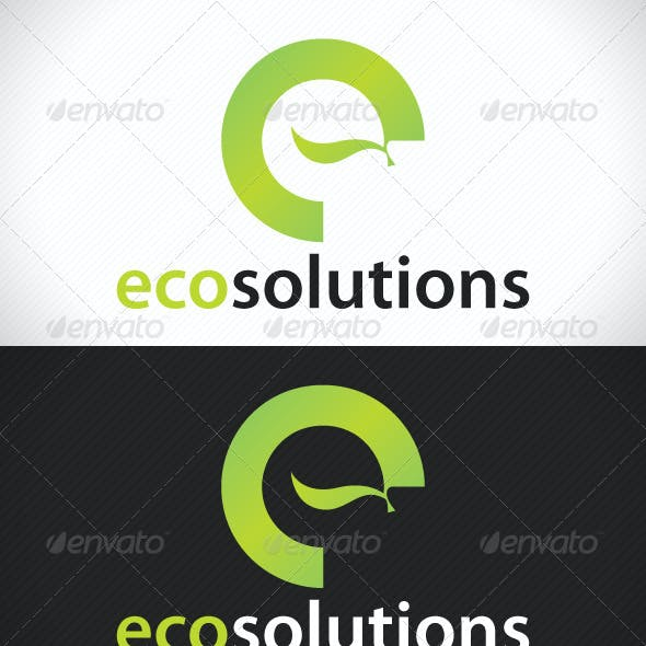 Eco Solutions Logo Template