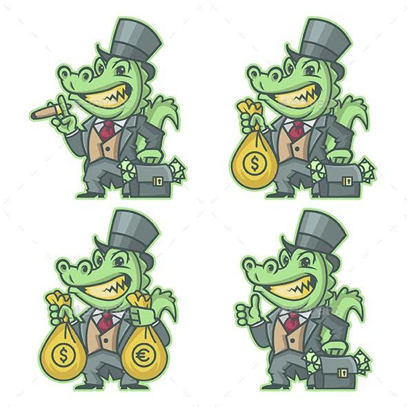 Crocodile Millionaire Banker
