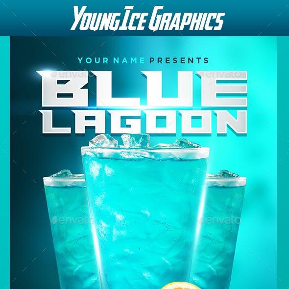 Blue Lagoon Flyer Template