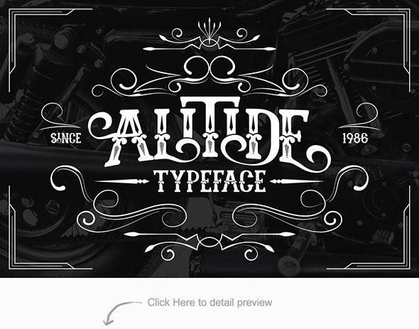 Alitide Typeface - Serif Fonts