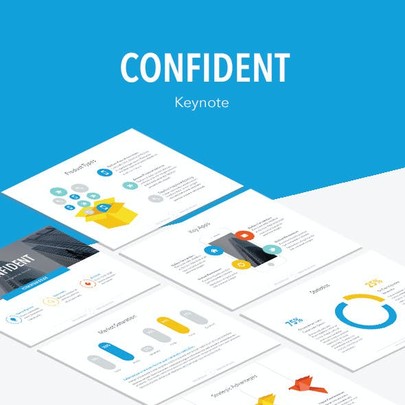 Confident Keynote Template