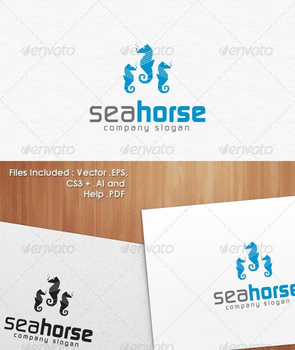 Sea Horse Logo Templates - Animals Logo Templates