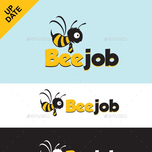 Bee Job Logo