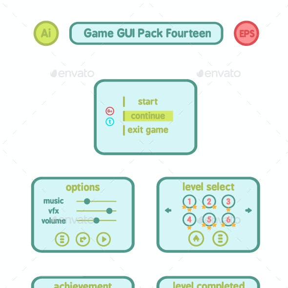 Game GUI Pack Fourteen