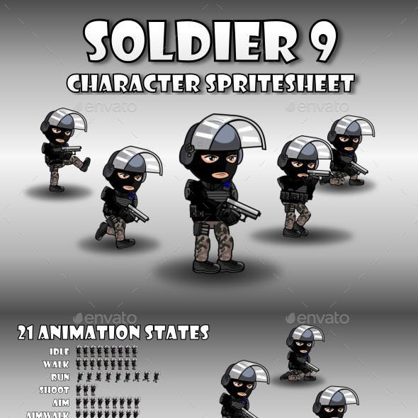 Soldier Character 9
