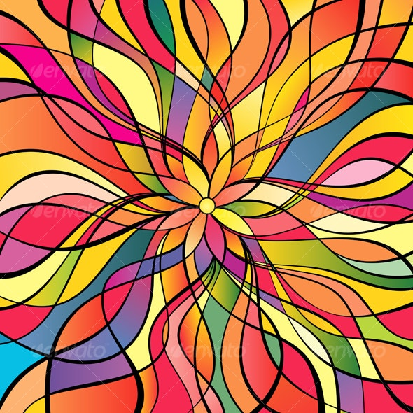 Multicolor abstract background - Backgrounds Decorative