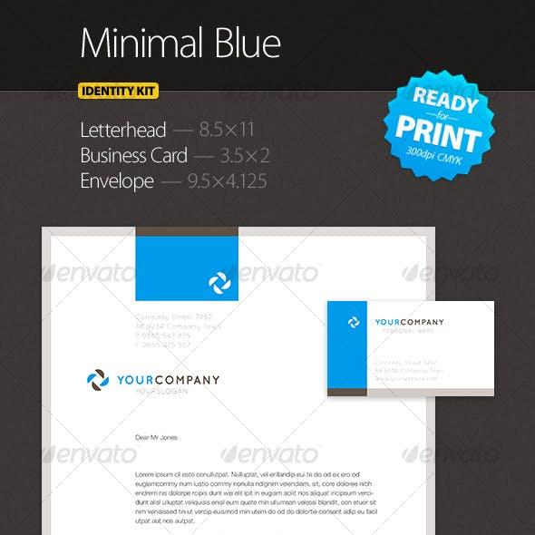 Minimal Blue - Identity Kit