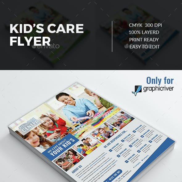 Kid's Care Flyer