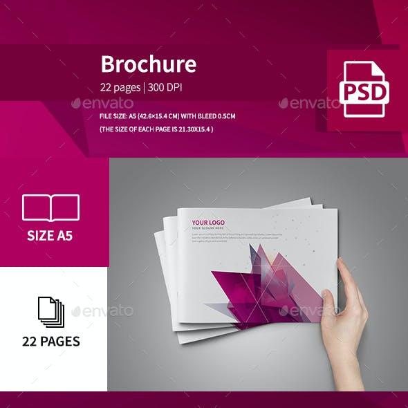 Corporate Colorful Modern Brochure 2016