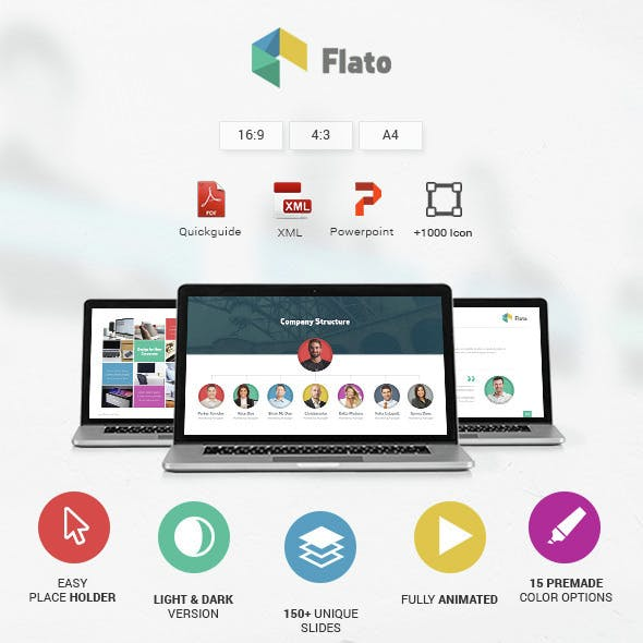 Flato - Powerpoint Template