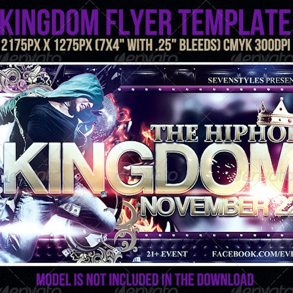 Kingdom Flyer Template