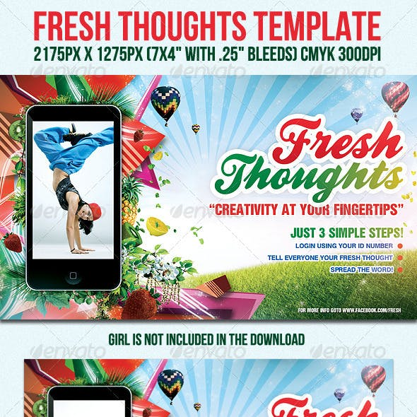 FreshThoughts Flyer Template