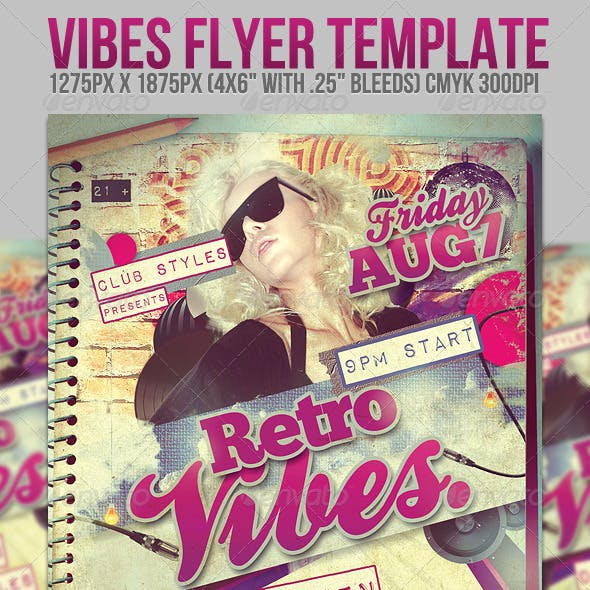 Vibes Flyer Template