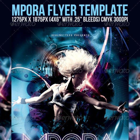 Mpora Flyer Template