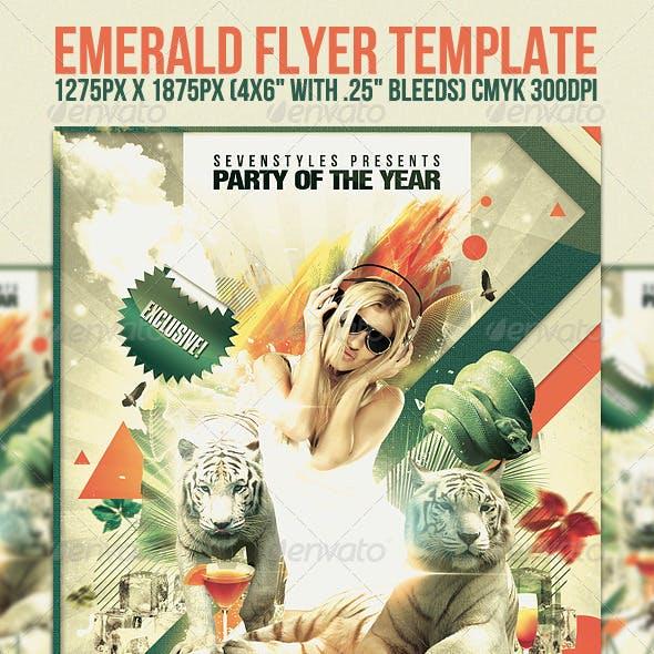Emerald Flyer Template