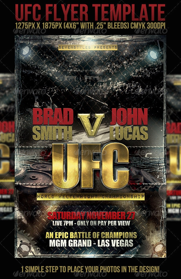 UFC sevenstyles by Template | Flyer GraphicRiver
