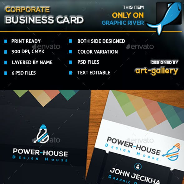 Corporate Business Card - 33B