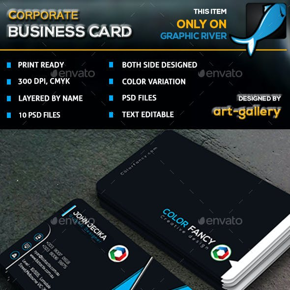 Corporate  Business Card - 34B