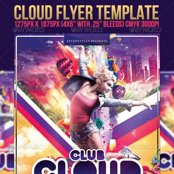 Cloud Flyer Template