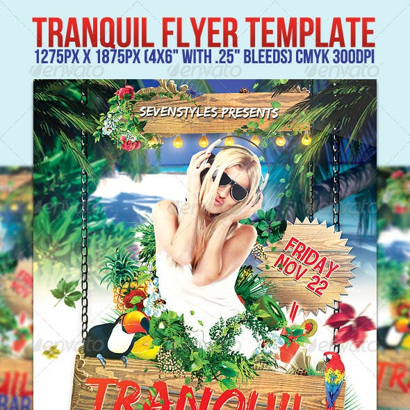 Tranquil Flyer Template
