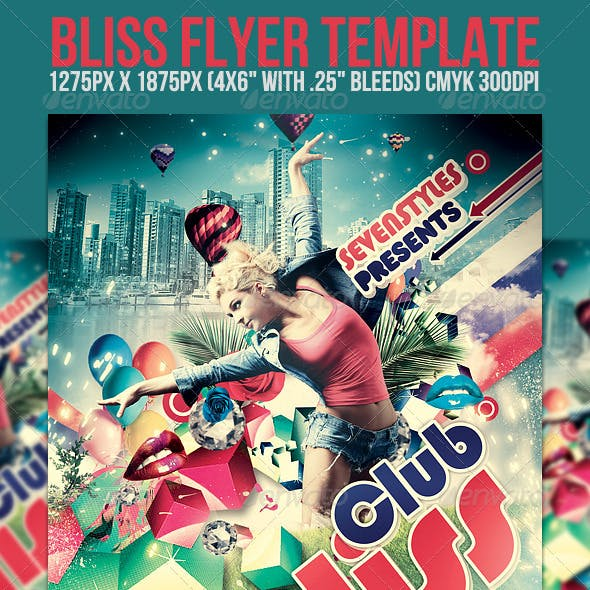 Bliss Flyer Template