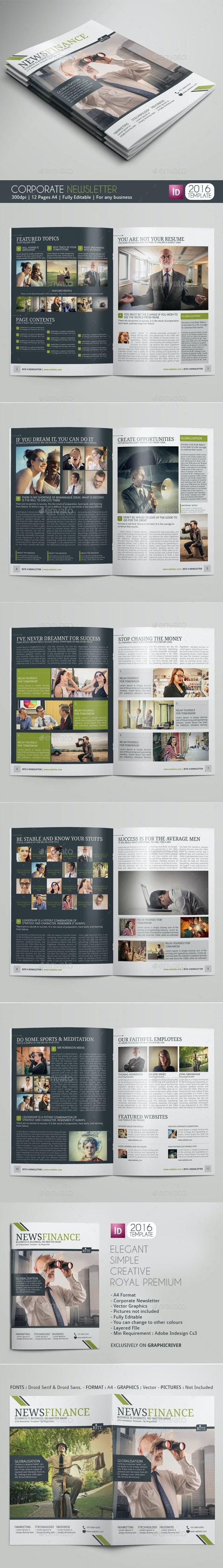RITE Newsletter - Newsletters Print Templates