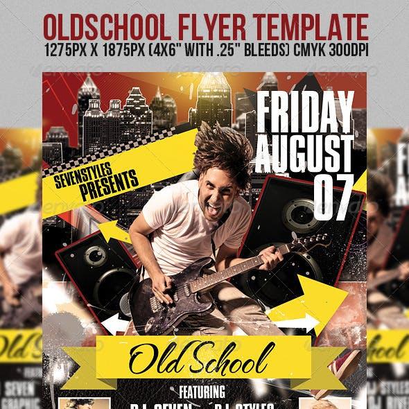 OldSchool Flyer Template