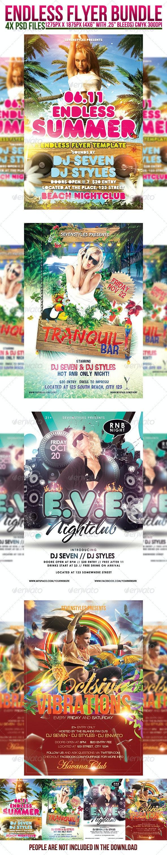 Endless Flyer Bundle - Clubs & Parties Events