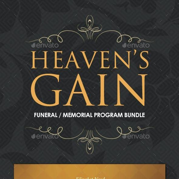 Funeral / Memorial Program Templates - BUNDLE