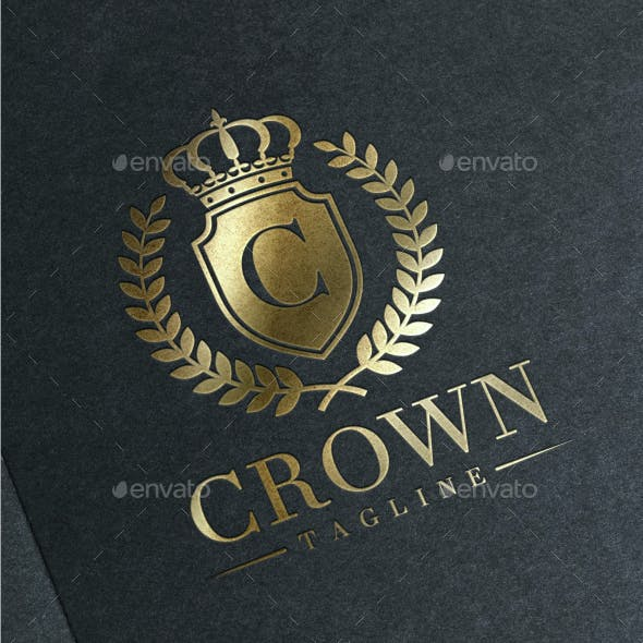 Crown Luxury - Letter C Logo