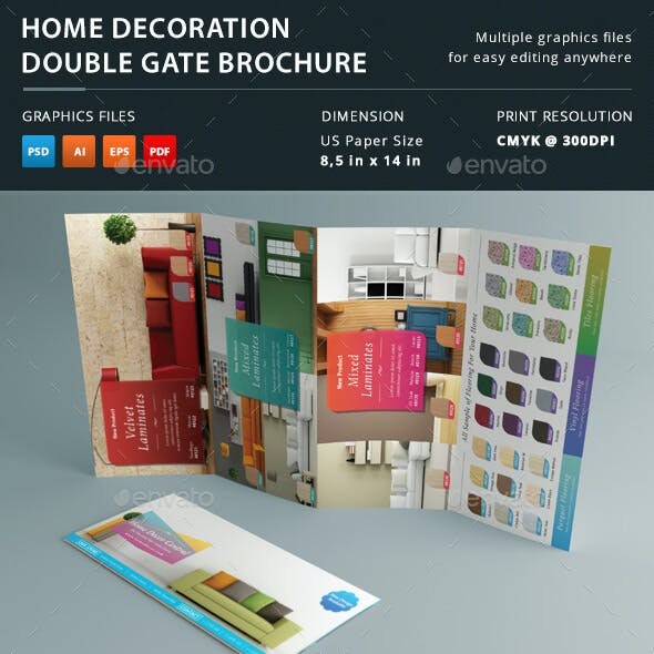 Home Decoration Double Gate Brochure