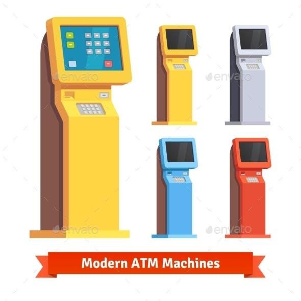Modern Teller ATM Machine