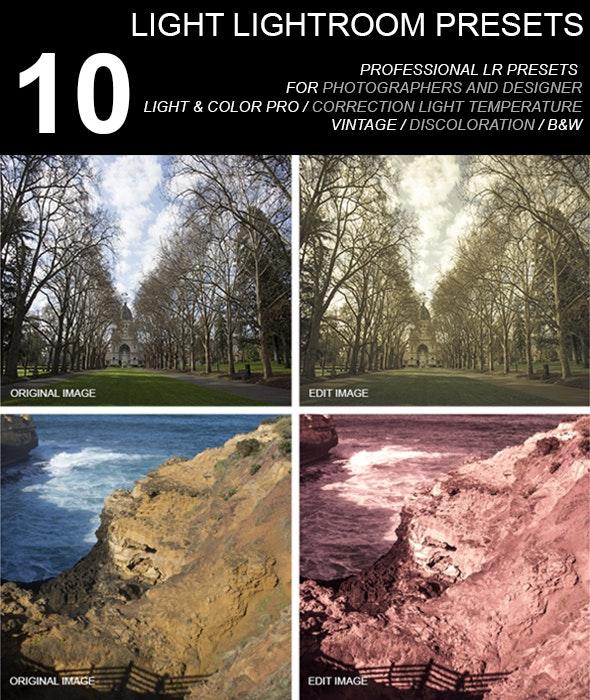 10 Light Preset - Landscape Lightroom Presets