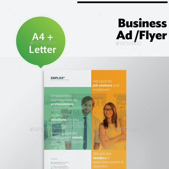 Business Ad Flyer Vol. 9