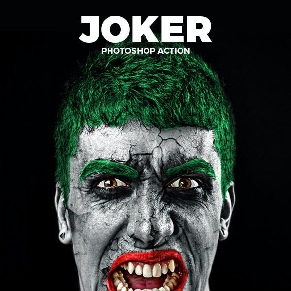 The Joker Photoshop Action