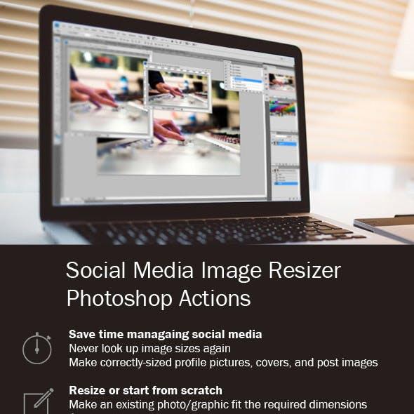 Social Media Image Resizer Actions