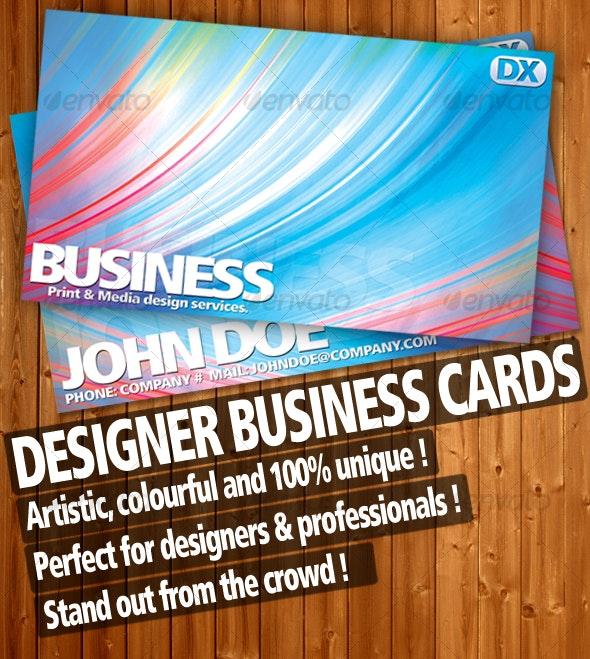 Premium Designer Business Cards. - Creative Business Cards