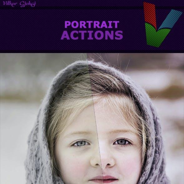 Portrait Actions I