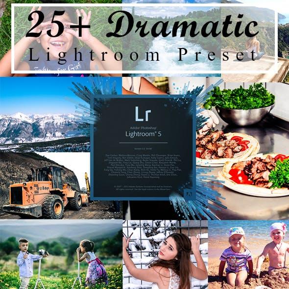 25+ Dramatic Lightroom Preset