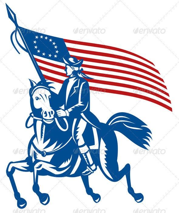 1c6f55174 American Patriot Minuteman Revolution Militia - People Characters
