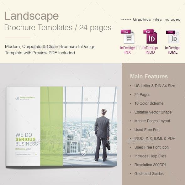 Landscape Brochure Templates
