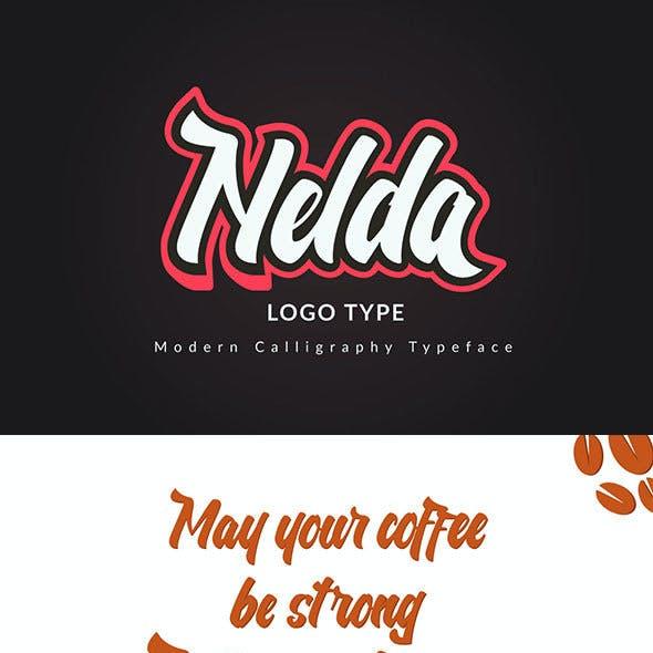 Nelda Typeface - Logo Type
