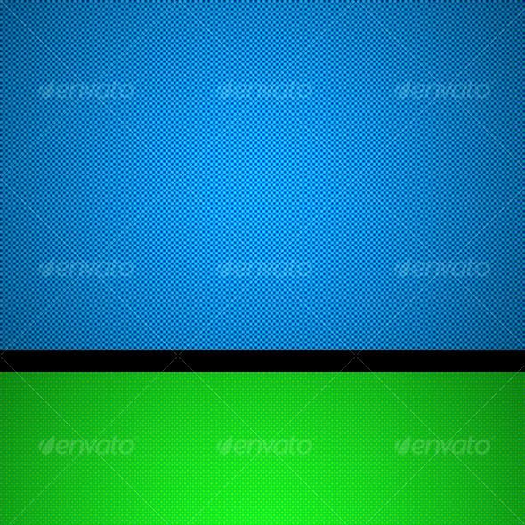 Seven color backgrounds