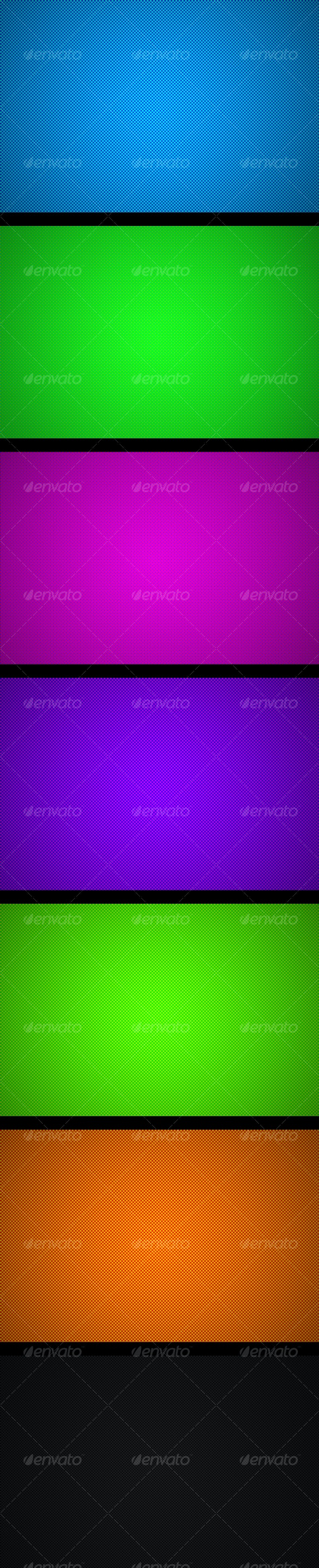 Seven color backgrounds - Abstract Backgrounds