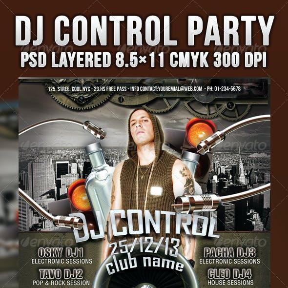 Dj Control Party