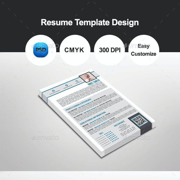 Tavalo Resume Template Design