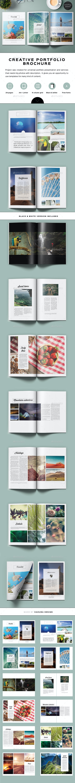 Creative Black &White Brochure - Portfolio Brochures